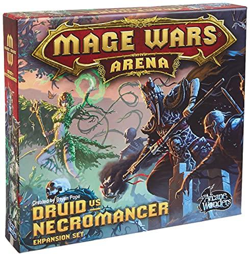 Arcane Wonders Juego de Mesa Mage Wars Druid vs Nigromante