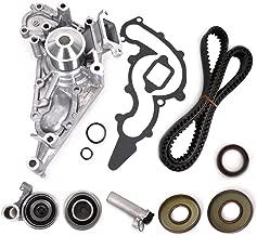 Engine Timing Belt Kit for Toyota 4Runner Land Cruiser Sequoia Tundra & Lexus GS400 LS400 SC400 GS430 LS430 SC430 GS470 LX470 V8 with 1UZFE 2UZFE 3UZFE Engine Replace # TKT-021 TKT-001 TCKWP298