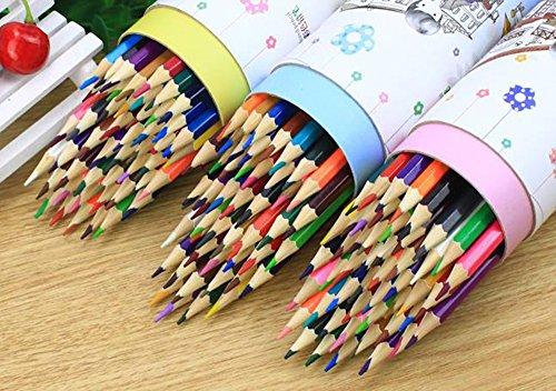 MINGZE Lápices de colores de 48 colores, núcleo suave, lápices de dibujo para colorear para adultos, bosquejo, proyectos de manualidades