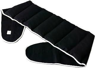 Coussin-ceinture, 135cm, aux noyaux de cerises à sept compartiments avec fermeture à bande auto-agrippante - Ceinture-boui...