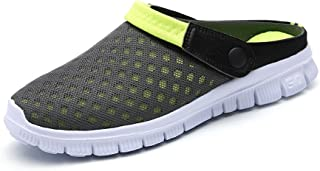Men-Women Slip-On Breathable Mesh Shoes Couples Sport Sandals Flip Flop