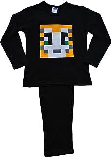 Pijamas estampadas Pixel de 7 a 12 años