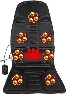 HYXQYYMY Colchón Masaje,Cojín Masaje Plegable,7 Motores De Vibración + Apagado De Tiempo,Doble Uso En Coche Y Hogar HHH+++
