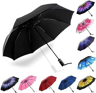 Siepasa Reverse Inverted Compact Light Windproof Travel Outdoor Umbrella -Auto Open Close