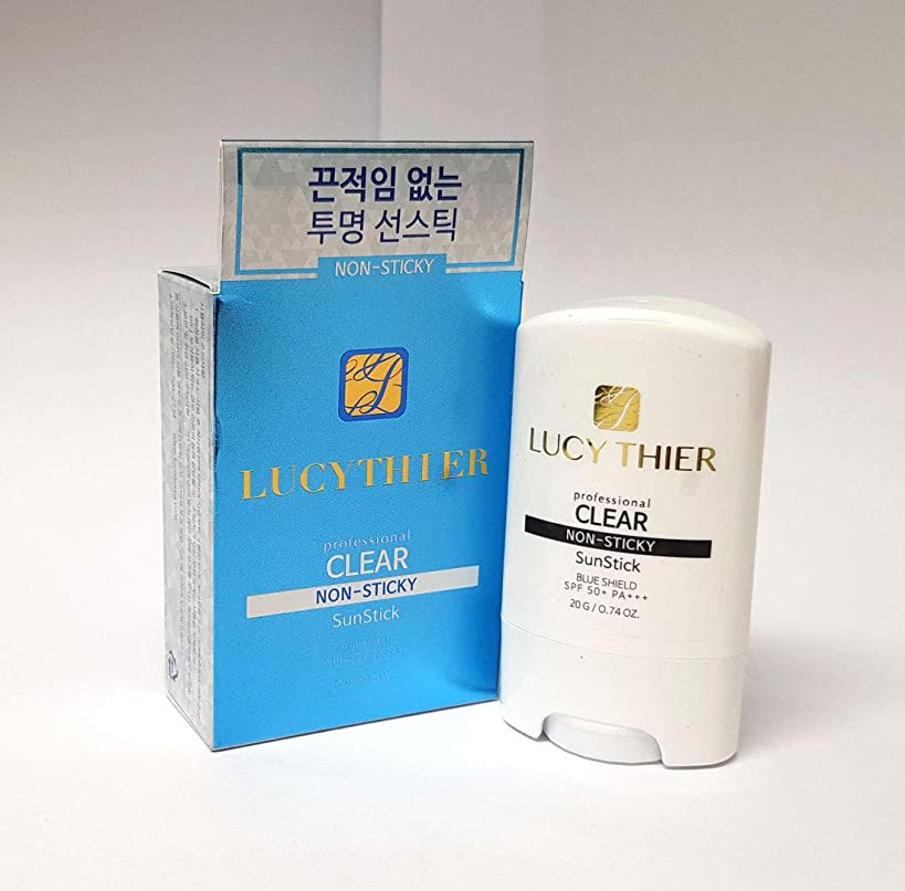 見通し審判不潔[LucyThier] プロクリアサンスティック20g / Professional clear sun stick 20g / NON STICKY/サンプロテクション/Sun Protection / SPF50+ PA+++ / 韓国化粧品/Korean Cosmetics [並行輸入品]