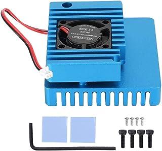 アルミ合金冷却ケース、N-anoPi R1S R2Sヒートシンクに実用的なコンピュータケース(blue)