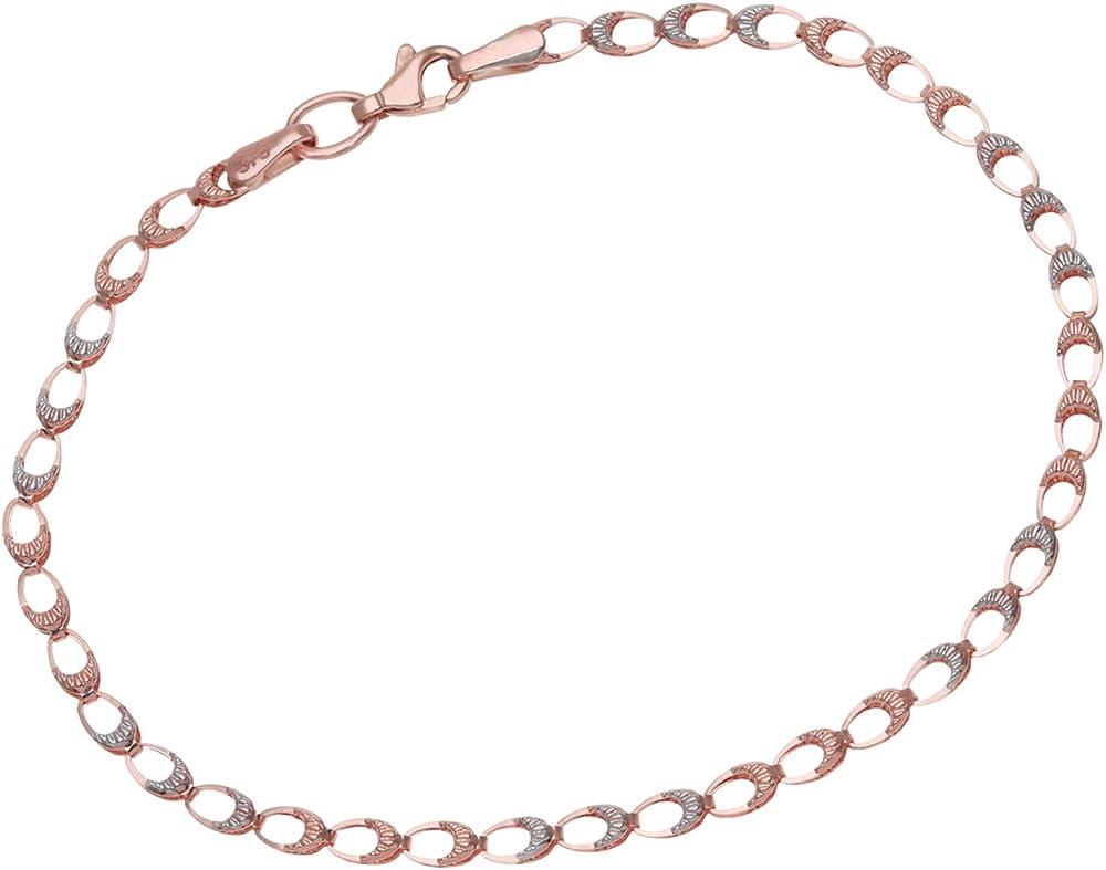 Citerna, bracciale da donna, oro bicolore 9kt/375(1,3 gr) BT1370