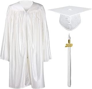 Shiny Kindergarten & Preschool Graduation Gown Cap Set with 2019 Tassel