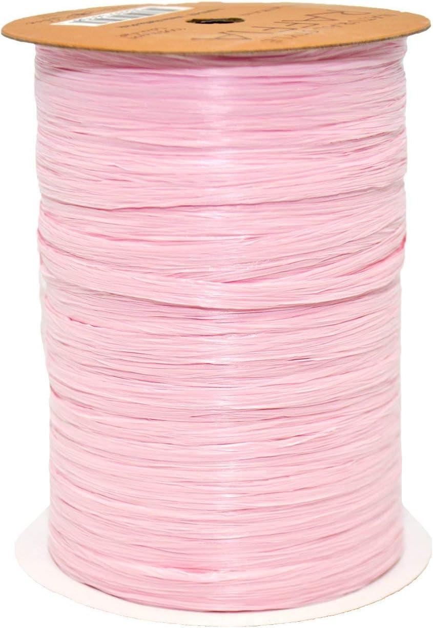 Raffia Pearl Cerise Multi Ribbon 1//4 x 55 Yds 2//pack BOWS-138-606