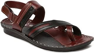 PARAGON SLICKERS Men's Maroon Sandals