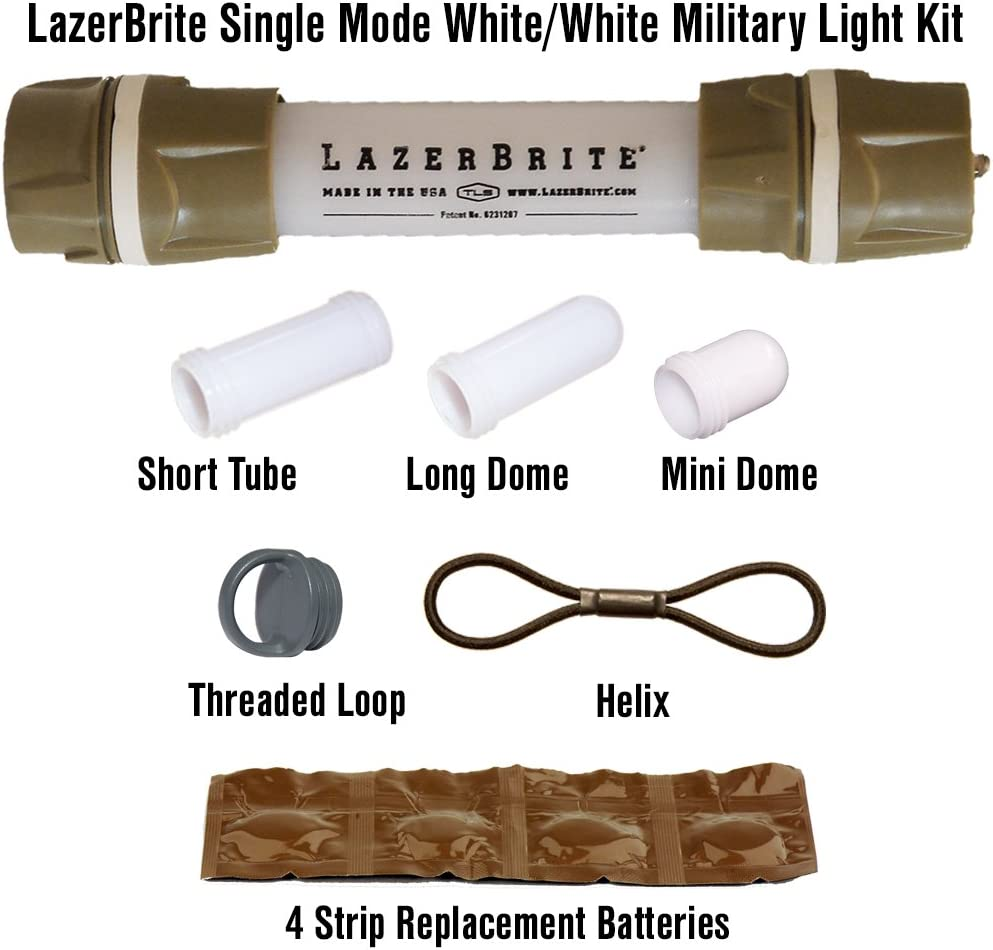 Lazerbrite Single Mode Ranking TOP8 White Kit Light Military Ranking integrated 1st place
