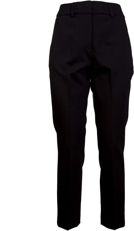 Dondup Women's DP160JS108DXXX999 Black Wool Pants