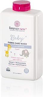 Forever New Baby Hypoallergenic Biodegradable Liquid Detergent – Clean Cotton Scent, 32 fl oz.