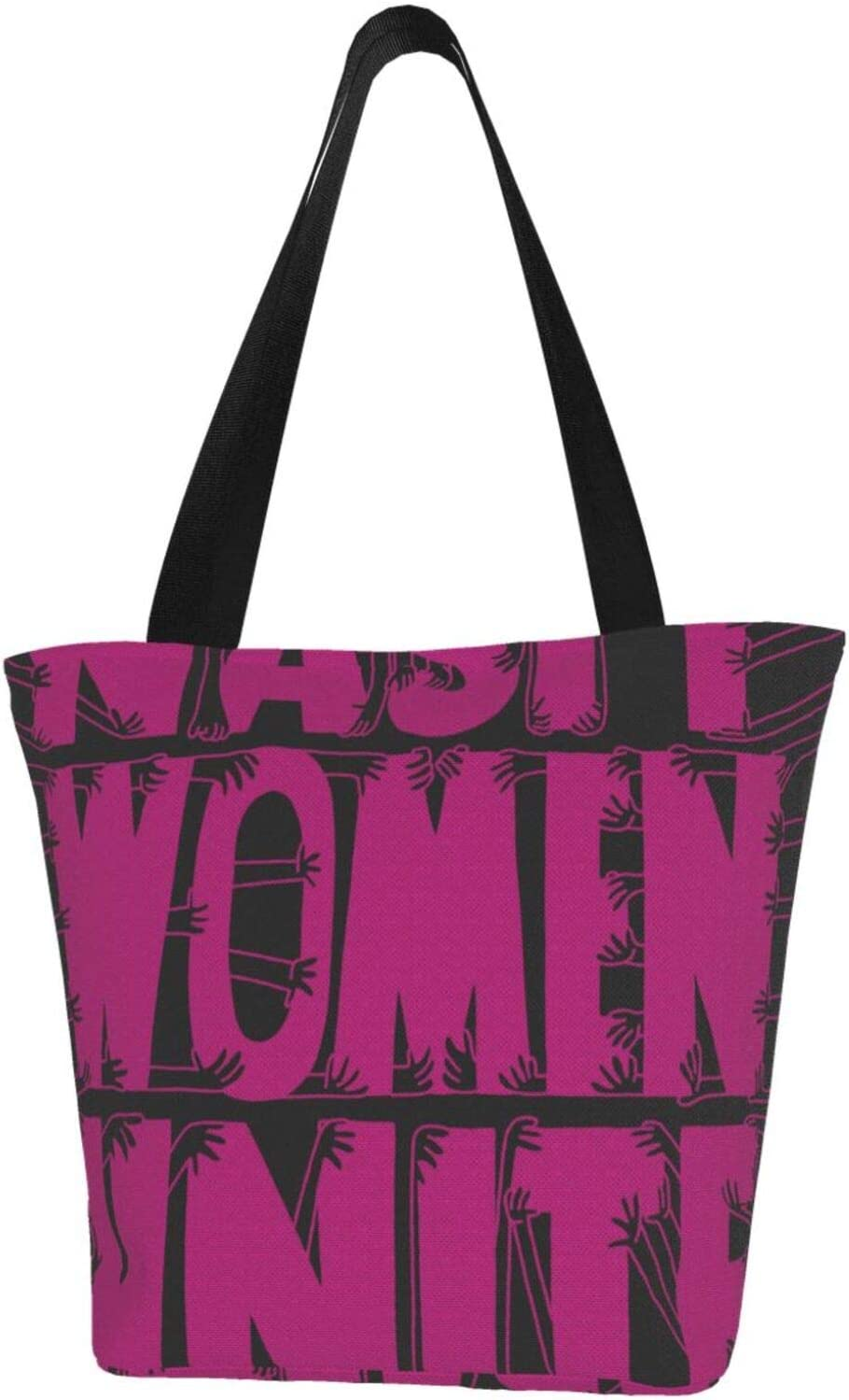 AKLID Nasty Women Unite Extra Water Max 54% OFF Resistant Large Phoenix Mall Tote Canvas