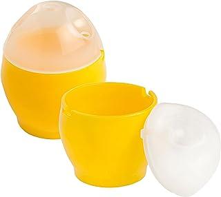 Eddingtons - Escalfador de huevos para microondas juego de