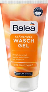 Balea Face Wash gel with vitamin C and niacinamides without paraben, 150 ml