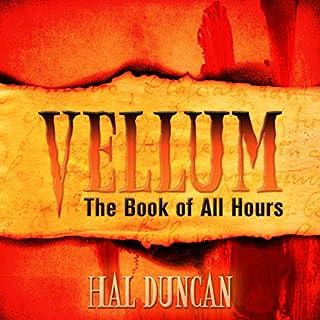 Vellum audiobook cover art