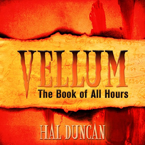 Vellum audiobook cover art