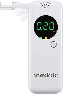 Ketone Breath Analyzer, Breath Meter with 1-Button Operation for Ketone Testing
