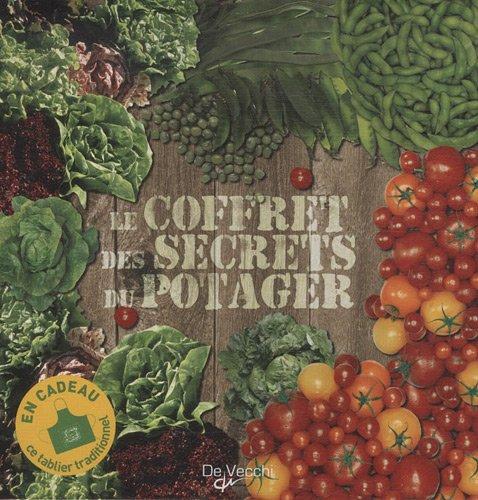 Le coffret des secrets du potager: Coffret 3 volumes : La tomate ; Les salades vertes ; Haricots et petits pois