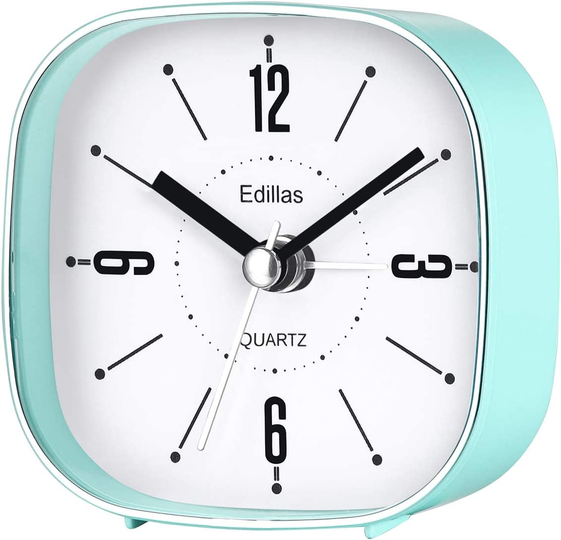 Small Analog Alarm Clocks 3 Travel Inch Portable Finally Jacksonville Mall resale start Simple Stylish
