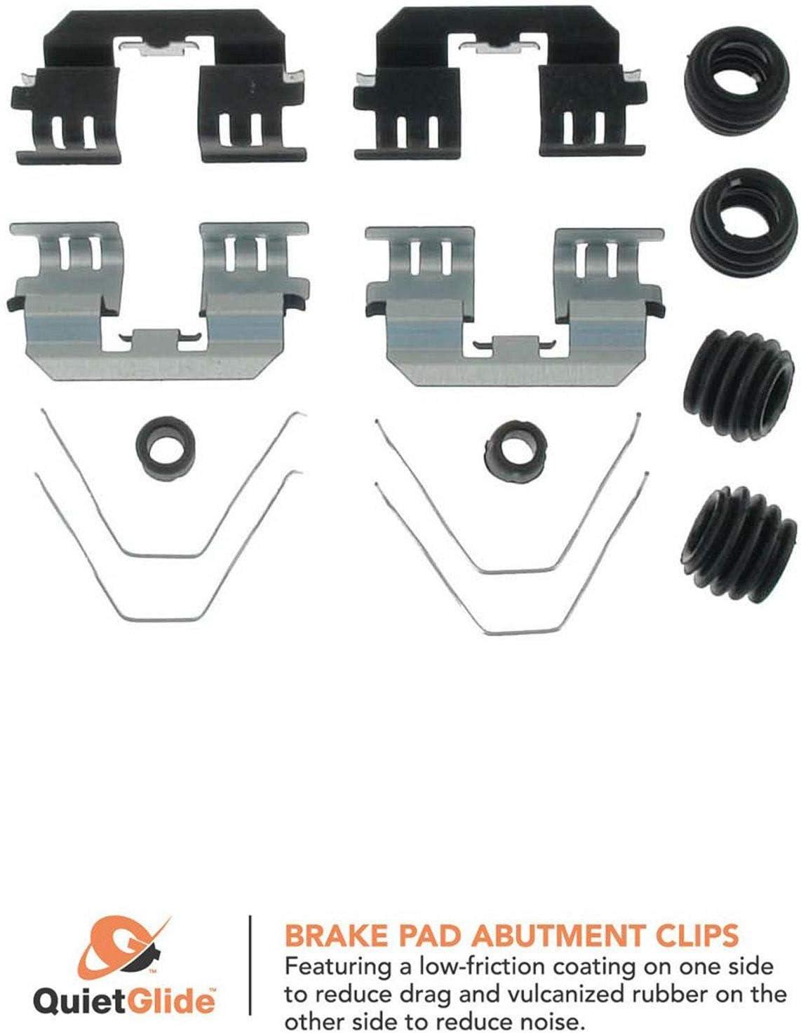 Carlson 13604Q Rear Brake Hardware Disc Kit New product Very popular! type
