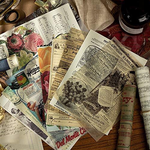 PMSMT Historia Antigua Entre Papeles Pegatina de Diario Etiqueta de decoración de álbum de Recortes 1 Lote = 1 Paquete al por Menor