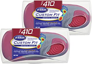 Dr. Scholl's CFO Custom Fit Orthotics CF410, 2-Pair, Visit a Custom Fit Kiosk with Advanced Footmapping Technology to Get Our Recommended Custom Fit Number for You!