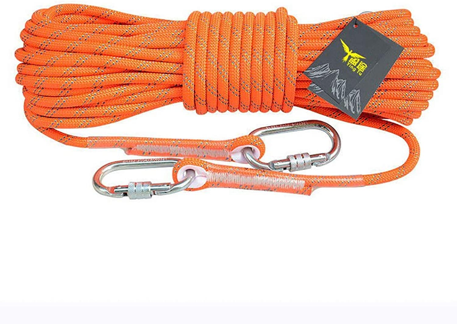 Climbing Rope Outdoor Safety Rope Climbing Rope Lifeline WearResistant Nylon Escape Rope 8mm (0.31 )   10.5mm (0.41 )   12mm (0.47 )