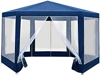 Instahut Outdoor Gazebo Portable Pop Up Tent Canopy with Mesh Walls and Double-sided Zipper for Camping Pergola Beach