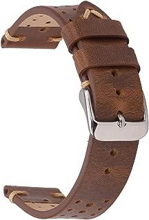 Best braun leather watch strap Reviews
