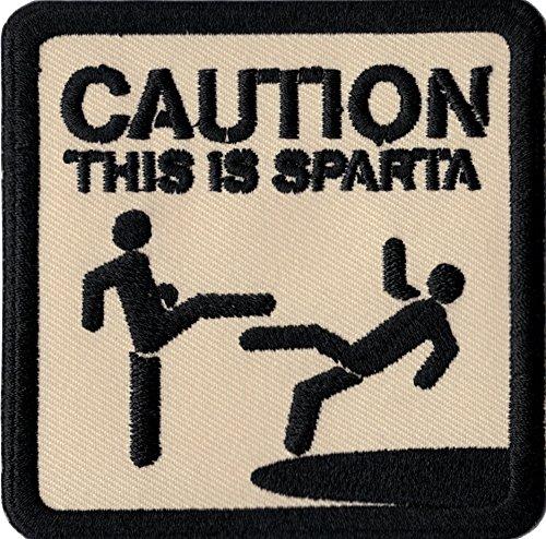 Patch Caution This is Sparta Kick Em...
