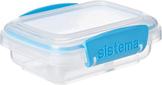 Sistema 61520 KLIP IT Accents Food Storage Container, 200 ml - Assorted Colours