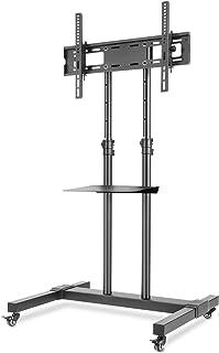 comprar comparacion RFIVER Soporte TV con Ruedas de Suelo Carro Movil para Television de 32 a 70 Pulgadas con Altura Ajustable Inclinable MT1001