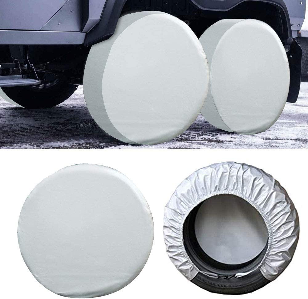 RV Tire Covers for Max 80% OFF Trailers Rv Wheel Translated of Set Camper 4