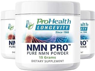 ProHealth NMN Pro Powder 3-Pack (15 Grams per jar) Nicotinamide Mononucleotide