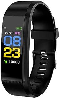 smartwatch Bluetooth inteligentne zegarki pulsometr fitness tracker bransoletka wodoodporna inteligentna opaska na rękę-cz...
