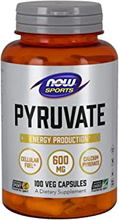 NOW® Sports Pyruvate, 600 mg, 100 Capsules