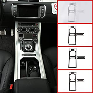 Yiwang per Discovery 5 LR5 2017-2019 2 pezzi strisce decorative cromate per console centrale