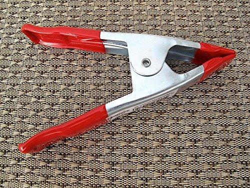 Métal Pinces 150 mm Grande pince de montage Rouge/Métal