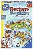 Ravensburger 24972 - Rechen-Kapitän - Spielen und Lernen für Kinder, Lernspiel für Kinder von 6-8 Jahren, Spielend Neues Lernen für 1-4 Spieler, Zahlenraum 1-20
