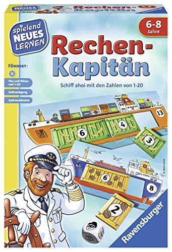 Ravensburger Spielen und Lernen 24972 - Rechen-Kapitän