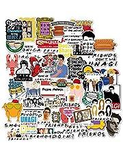 Friends TV Show Fans Stickers for Water Bottle,Waterproof Vinyl Skateboard Guitar Travel Case Sticker Door Laptop Luggage Car Bike Bicycle Stickers- Interesting Gift