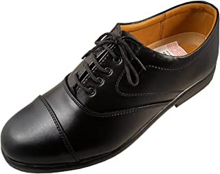 Action Shoes Men's Black Synthetic Formal Shoes -Uk/India 8