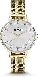Skagen Women's SKW2150 Anita Quartz 3 Hand Stainless Steel Gold Watch