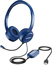 Mpow 071 USB Headset/ 3.5mm Computer Headset with Microphone Noise Cancelling,..