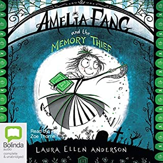 Amelia Fang and the Memory Thief cover art