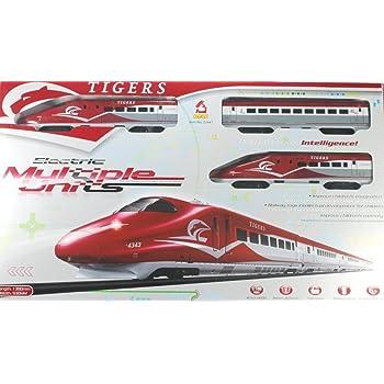 PremSakhi Tiger Metro Bullet Train Set for Children