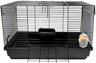 Aeon hum ハムスターケージ ハムスターハウス 通気 組立式 小動物ケージ 飼育ケージ 内装 幅広い セット付き 持ち手付き サイズ:47*30*30cm(セット)