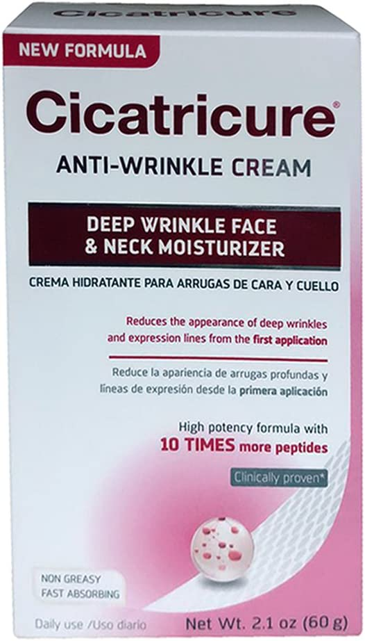 Cicatricure Crema Anti-Wrinkle Face Cream Pack High New sales quality 2.10 of oz 4